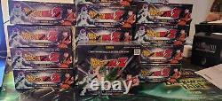Dragon Ball Z Trading Card Game Panini Base Set 1 Booster Box DBZ premier 24pks