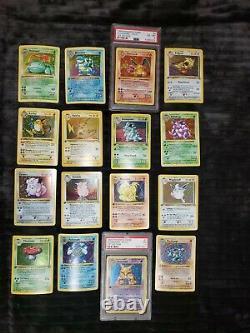 FULL 251 POKEMON AND UNOWN 1st Edition WotC Pokemon Trading Card LOT SET