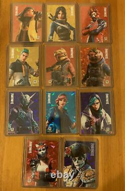 Fortnite Series 2 Promo Set 11 Cards Cracked ice Dante P10 IN HAND SHIPS ASAP