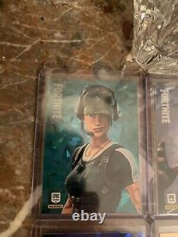 Fortnite Trading Cards Series 1 9 Card Promo Set! Shard ICE. USA All Nmt/Mt