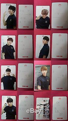 Full Set BTS Official Photocard ITMFL Pt 1 Pt 2 Dark Wild Skool Luv Affair NO 01 jhp
