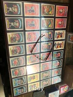 Garbage Pail Kids 1st series 1 Matte Set 84 With Nasty Nick & Bomb OS1 PSA Ready