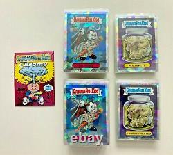 Garbage Pail Kids 2013 Chrome Series 1 Atomic Refractor 110 Card Complete Set