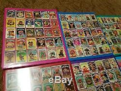 Garbage Pail Kids Complete Original Series Set OS1-15 in Custom Binders 1st-15th