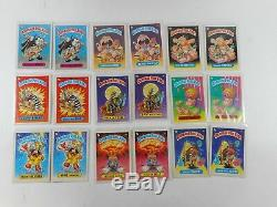 Garbage Pail Kids Complete Set A & B 1985 First Series 1 82 Cards Matte & Gloss