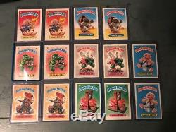 Garbage Pail Kids Complete Set Series One Original OS1 1985 Variations 88 Cards