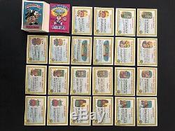 Garbage pail kids series 1 1985 Gpk OS1 First Series 82 Card Matte Set Adam Bomb