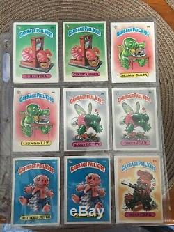 Garbage pail kids series 1 Gpk OS1 First Series 82 Card Set Adam Bomb 1985 Topps
