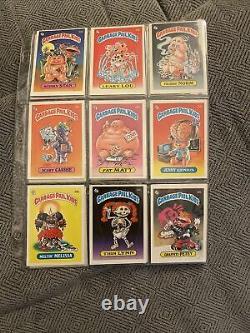 Garbage pail kids series 1 complete set 1985