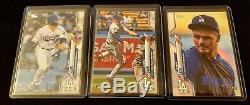 Gavin Lux 2020 Topps Series 1 SSP Photo Image Variation RC SET #292 Dodgers HOT