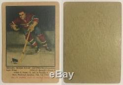 (HCW) 1951-52 Parkhurst Complete Set 1-105 Vintage Hockey Howe, Richard, Sawchuk