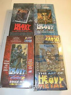 Heavy Metal All 4 Boxes 1, Art of, Movie & More, F. A. K. K. By Comic Images