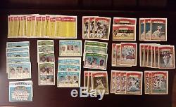 Huge 1972 Topps Baseball Lot. Over 1000 cards Wow