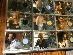 Iron Man Rittenhouse 2008 Master Set Robert Downey Jr, Jeff Bridges Auto+ Plus+
