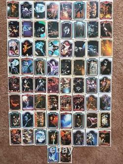Kiss 1978 Series 1 Trading Cards Complete Set, 1 66 (NM/E)