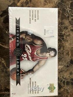 LEBRON JAMES 2003-04Upper Deck NEW Sealed Box 32 Rookie Card Set. MVP AUTO