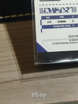LaMelo Ball 2020-21 Panini Contenders Draft Gold Vinyl Premium Prizm Auto 1/1