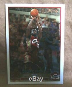 LeBron James RC/Carmelo Anthony/Chris Bosh RC 2003-04 Topps Chrome Complete Set