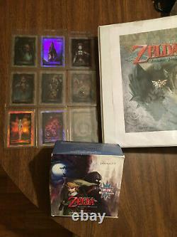 Legend of Zelda Twilight Princess Cards COMPLETE Set With all 9 Gold Foils RARE