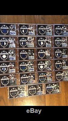 Limited Americas Team Set Dallas Cowboys Auto Jersey Patch Autograph Lot Of 23