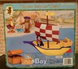 Little Bear Playset Maurice Sendak Captain Little Bear Set Nick Jr 1999 New