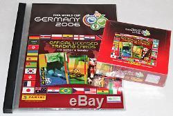 MEGA-SET Panini TRADING CARDS ADRENALYN XL BOX+BINDER WC 2002, 2006, 2010, 2014