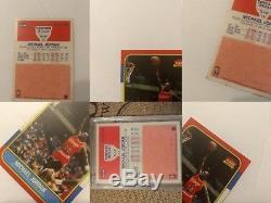 MICHAEL JORDAN #57 1986-87 Fleer RC Rookie Card (73 year old man estate sale)