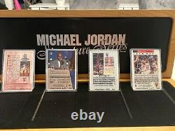 MICHAEL JORDAN AUTOGRAPH Auto SIGNATURE SERIES Porcelain CARD SET 380/1000