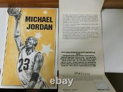 MICHAEL JORDAN UD AUTOGRAPH Auto SIGNATURE SERIES Porcelain 4 CARD SET #306/1000