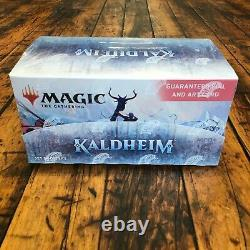Magic The Gathering SEALED Kaldheim Set Booster Box! 30 Packs! MTG Trading Cards