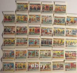 Marvel Comics Sugar-Free Gum Complete Vintage Wrapper Card Set (34) Topps 1978