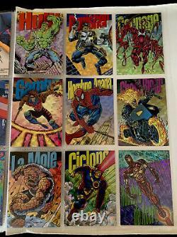 Marvel Pepsi Cards Full Set COMPLETE includes 9 Prism Cards Hulk Carnage