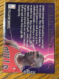 Michael Jordan 1993-94 Fleer Ultra Basketball Scoring Kings Insert