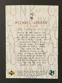 Michael Jordan 1997-98 UD3 MJ3 DIE CUT 3 card Set RARE Bulls HoF