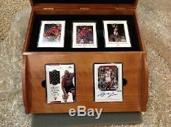 Michael Jordan 1999 Master Collection Autograph Game Used Jersey Set # 169 / 500