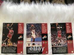 Michael Jordan Cards Set G Deck (6) Upper Deck Gatorade Promo! RARE
