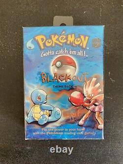 NEW Pokemon Blackout Factory SEALED Trading Cards Theme Deck Base Set 1999 Mint