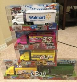 New Disney Pixar Cars 1 Complete Set of All 20 Haulers NIB Collector Condition