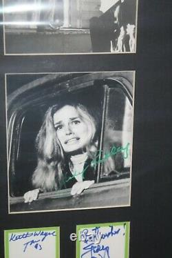 Night of the Living Dead Matted Set of 12 autographed Trading cards JSA LOA