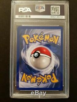 PSA 7 SIGNED Charizard Base Set Holo 4/102 Mitsuhiro Arita Sketch Pokemon Card