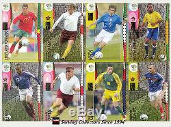 Panini 2006 Germany Official World Cup Soccer Trading Card Full Set (205)