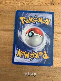 Pikachu 60/64 Red Cheeks 1999 ORIGINAL Pokemon Trade Card Base Set RARE
