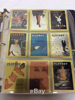 Playboy trading cards boxes