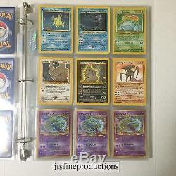 Pokemon Card Lot Base Set First Edition Shadowless Charizard