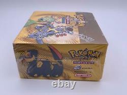 Pokemon EX Sandstorm Sealed Booster Box Nintendo E-Reader Case Included