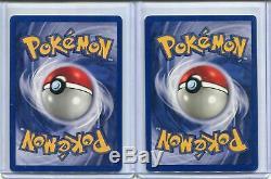 Pokemon Shadowless 1st Edition Base Set #4/102 Charizard x 2 Pack Mint / Nr Mint