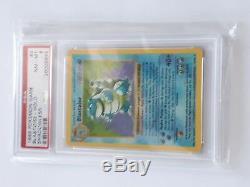 Pokemon Shadowless Blastoise PSA 8 base set 2/102 Holo NM-MT not 1st edition