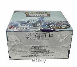 Pokemon Sword & Shield CHILLING REIGN Booster Box NEW SEALED 36-Packs