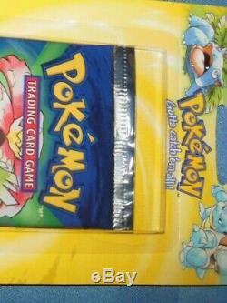 Pokemon Trading Card Booster Pack Base Original Set Venusaur Blister SEALED