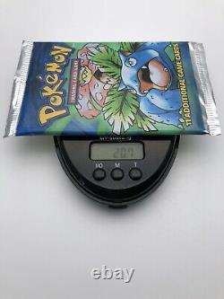Pokemon Venusaur Sealed Booster Pack 1999 Base Set 20.7g Heavy